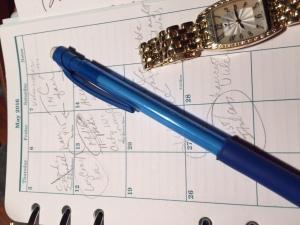 Calendar paper.watch.5.16