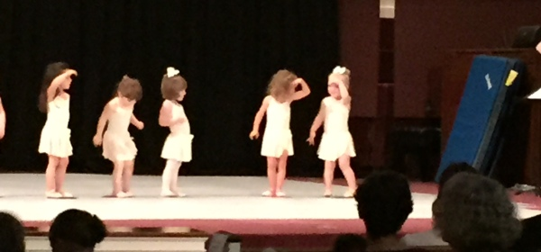 granddaughter dance recital