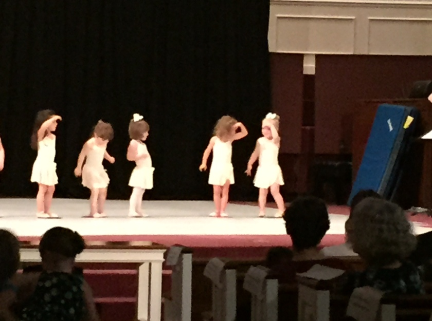 granddaughter dance recital
